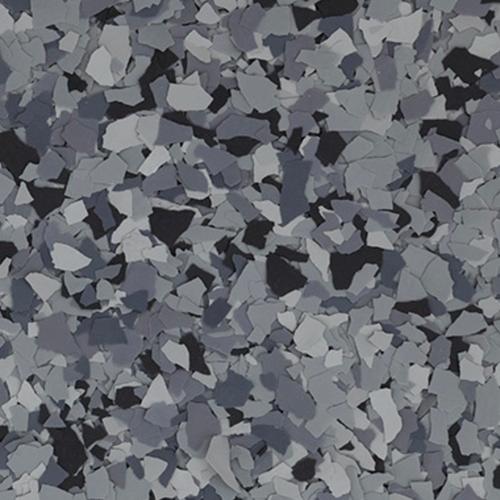 """NIGHTFALL (Torginol's FB-715 Nightfall)- Granite Flake 1/4"""" (40 lb.)"""
