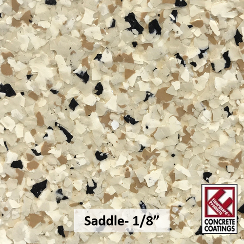 "Saddle- Granite Flake 1/8"" (40 lb.)"