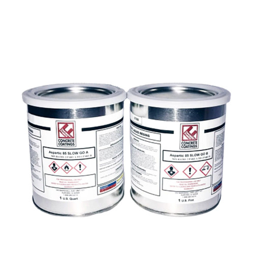 Aspartic 85 Slow Go (LOW ODOR) **LOW GLOSS** 1-Quart Sample