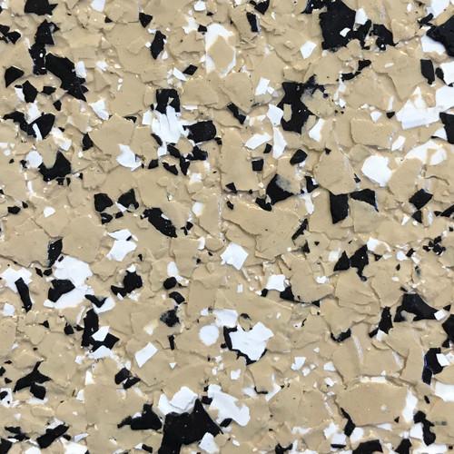 """TAN- Granite Flake  1/4"""" (25 lb.)"""