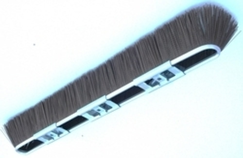 "29"" Brown Coarse Broom Head & Handle with Adapter"