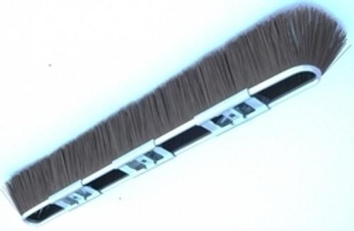 "29"" Brown Coarse Broom Head & Handle with Adapter"