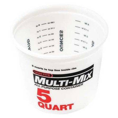 5 Quart Measuring Bucket