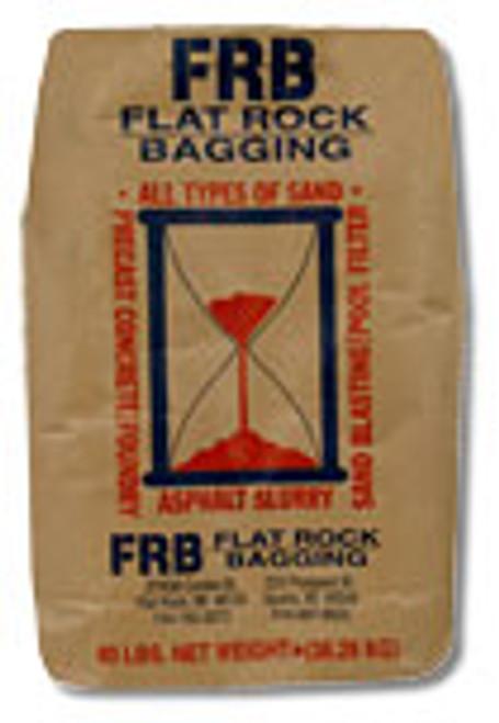 Small Silica Sand #40-70 Mesh - 50 lb. bag