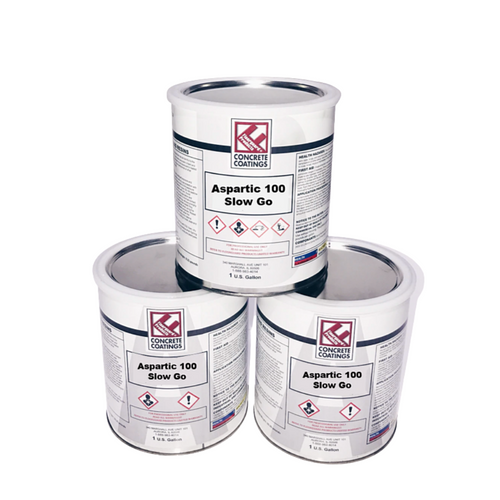 Aspartic 100 Slow Go® - 3 Gallon Kit