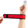 5 Pack LED Slap Armband Lights Glow Band for Running Jogging Walking 35cm Red
