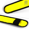 5 Pack LED Slap Armband Lights Glow Band for Running Jogging Walking 35cm Yellow