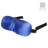 3D Blue Sleeping Eye Mask Blindfold | With Earplugs Shade Seamless Curves Relaxing Sleep Wake Up Well Rested