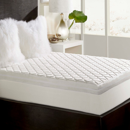 """12"""" Gel Infused Memory Foam Mattress with Reversible Top Cal King Size"""