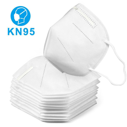 100PCS KN95 Face Mask Dustproof PM2.5 Facemask without Valve