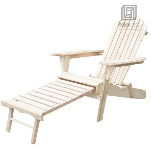 Phenomenal Unpainted Series Of Magic Garden Outdoor Patio Deck Garden Foldable Adirondack Wood Chair With Pull Out Ottoman Cjindustries Chair Design For Home Cjindustriesco