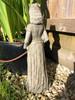 Reconstituted Stone Garden Princess Home Garden Statue