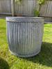 Galvanised, zinc, steel, metal, outdoor, indoor, garden, home, planter, pot, urn, vase, flower, trough, set, plants, Dolly Tub,