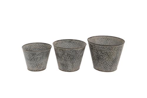 Galvanised, Metal, Zinc, Planter, Trough, Pot, Flower, Bowl, Outdoor, Garden, Ornament, Decoration