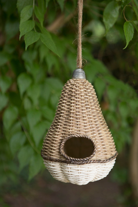 Fruity Rustic Wood Effect Bird House