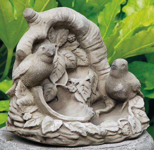 Reconstituted Stone Limestone Birdbath Feeder Garden Ornament