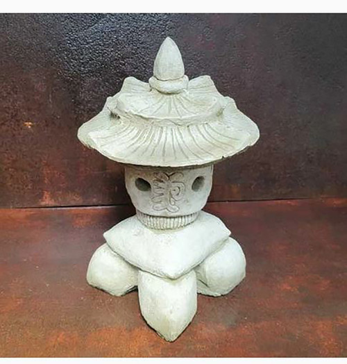 Reconstituted Stone Pagoda Oriental Garden Ornament Statue