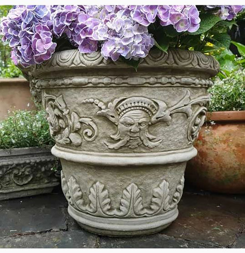 Reconstituted Stone Florentine Pot Planter Trough Large Garden Ornament