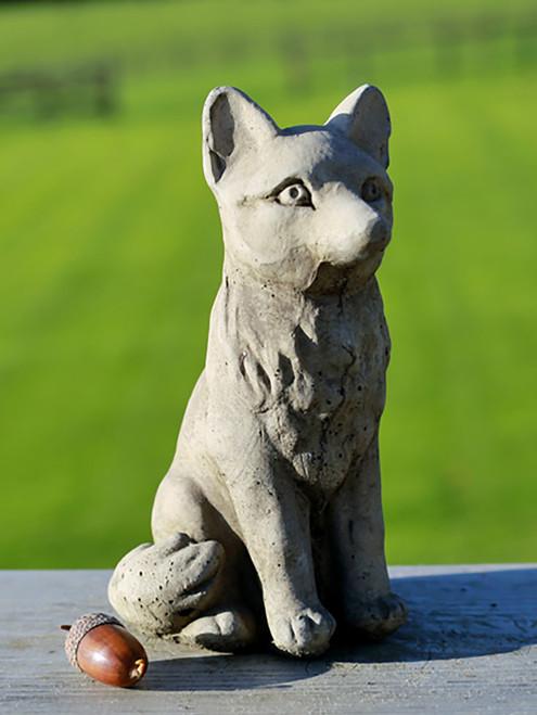Stone Fox Garden Ornament Statue
