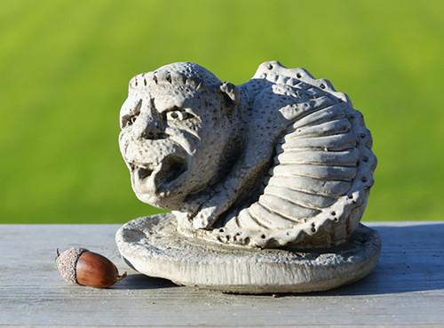 Stone Fish Gargoyle Garden Ornament Statue