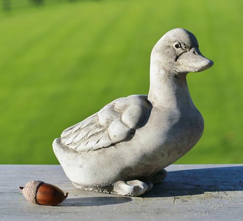 Stone Duck Garden Ornament Statue