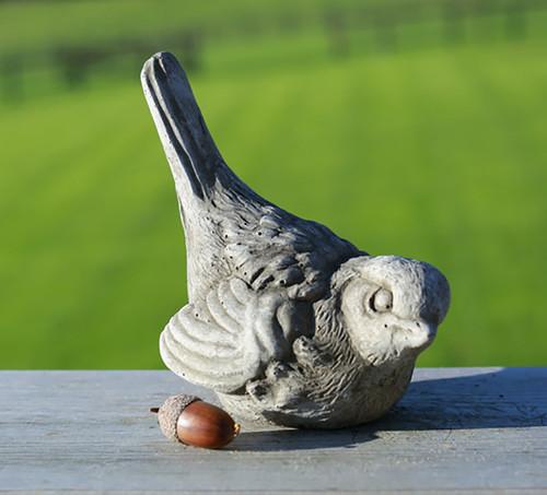 Stone Swallow Bird Garden Ornament Statue