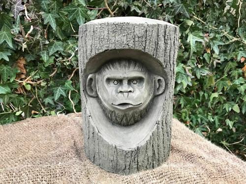 Stone Monkey Plaque Garden Ornament Statue