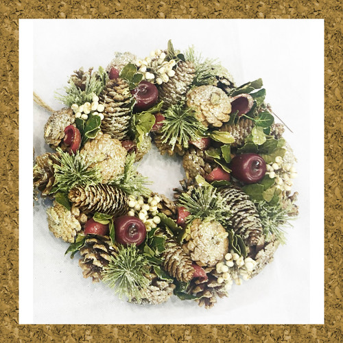 Christmas Wreath Decoration Home Ornament Hanging