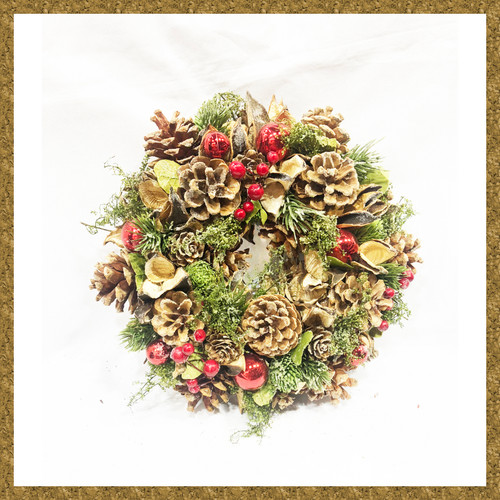 Christmas Wreath Decoration Home Ornament