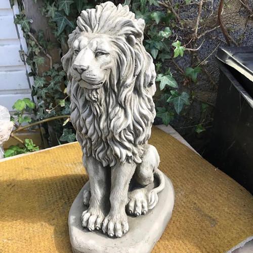 Reconstituted Stone Animal Lion Statue Garden Ornament