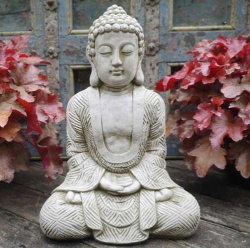 Stone Buddha Statue Outdoor Garden Ornament Decoration