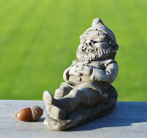 Reconstituted Stone Outdoor Garden Statue Ornament Decoration Gnome