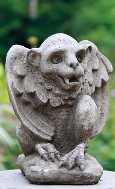 Reconstituted Stone Outdoor Garden Statue Ornament Gargoyle Gremlin