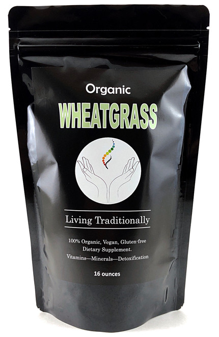 Organic Wheatgrass Powder: Vitamins, Minerals, Chlorophyll, Alkalize, and more!