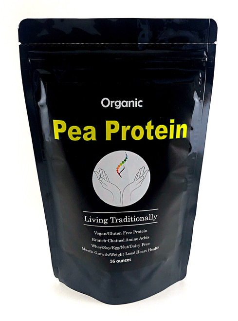 Organic Pea Protein Powder - Vegan Protein and Amino Acids