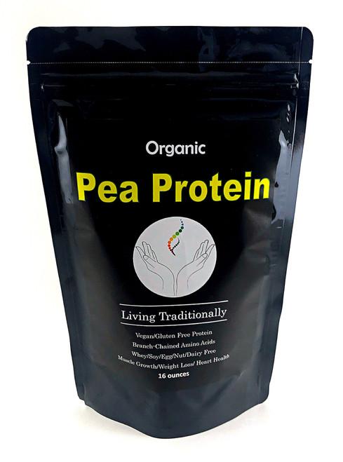 Organic Pea Protein Powder - Vegan Protein and Amino Acids