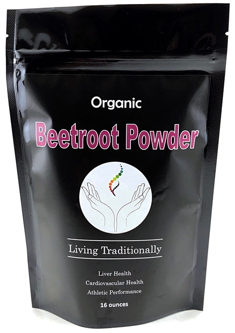 Organic Beetroot Powder (16oz)