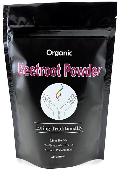 Organic Beetroot Powder (16oz)