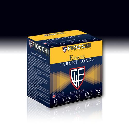"""Fiocchi Trainer 12ga 2-3/4"""" 7/8oz #7.5 Shot35307"""