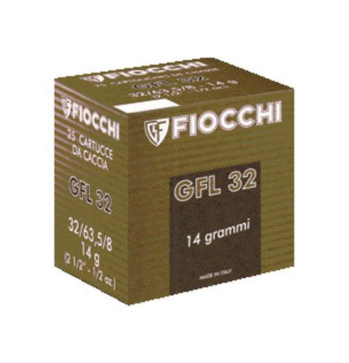 """Fiocchi 32ga 2-1/2"""" 1/2oz #8 shot35301"""