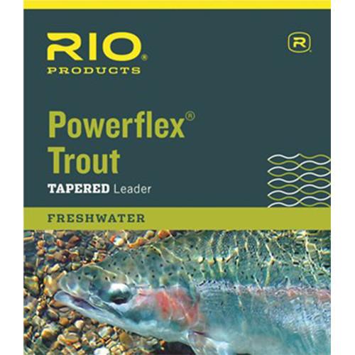 Rio Powerflex Trout Leader 4X 7.5ft 3 Pack31528