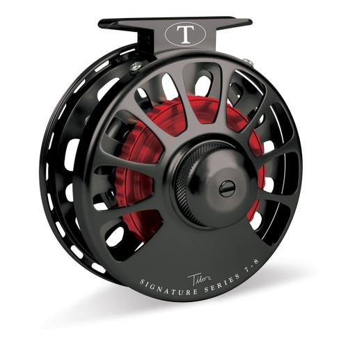 Signature Series 7-8wt Black Reel with Red Hub32983