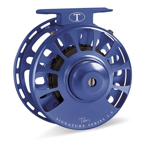Signature Series 5-6wt Blue Reel with Black Hub33572