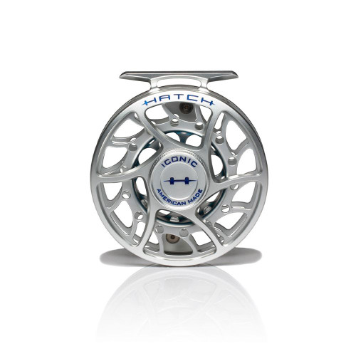 Hatch Iconic 5 Plus Clear/Blue Mid Arbor Reel53724