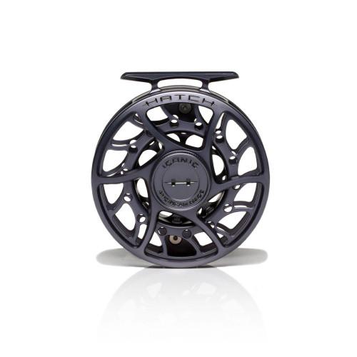 Hatch Iconic 5 Plus Grey/Black Mid Arbor Reel53726