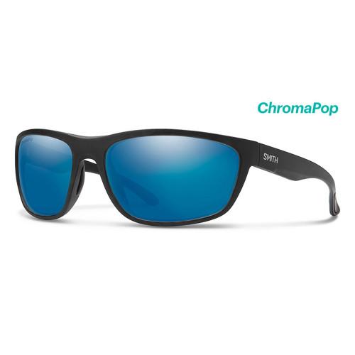 Redding Matte Black Frame/ Glass ChromaPop Polarized Blue Mirror Lens45469