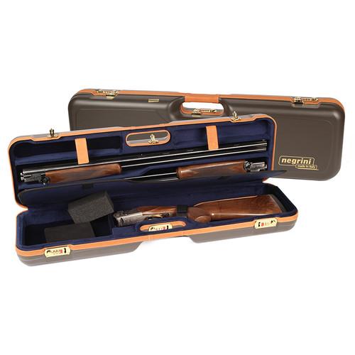 Negrini OU/SxS Deluxe Hunting Combo Shotgun Case 1621BLX/538837584