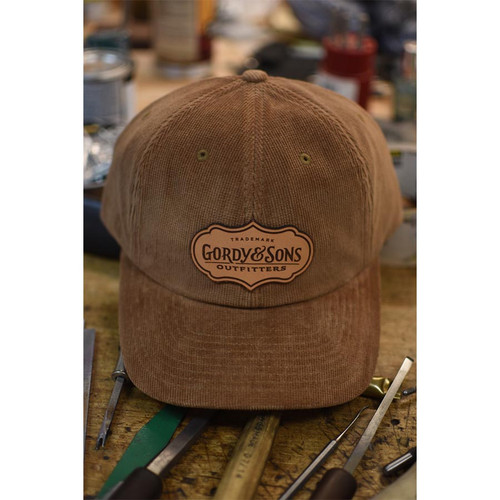 G&S Leather Patch Corduroy Hat52203