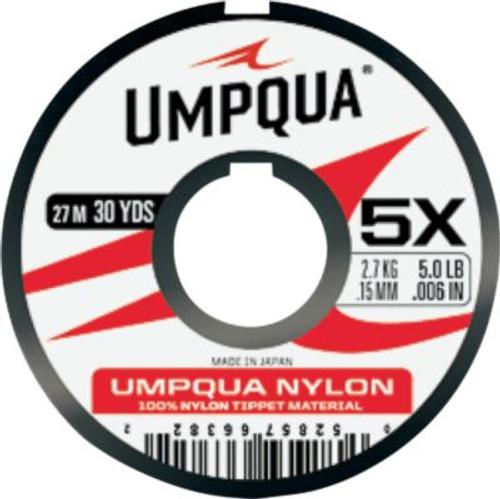 7X UMPQUA NYLON TIPPET27914