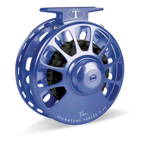 Signature Series 9-10wt Blue Reel with Black Hub32985